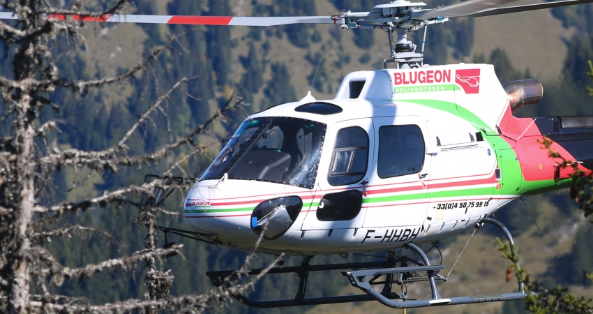 BLUGEON HELICOPTERES : LEVAGE DE CHARGES