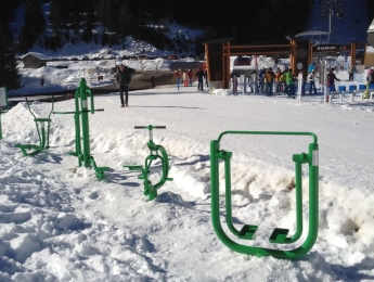 Échauffement avant le ski BE4SKI