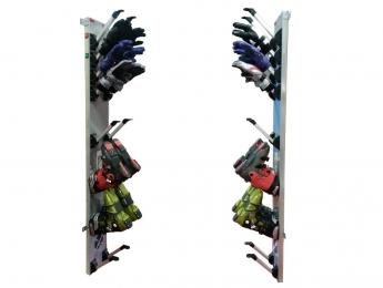 Energy-saving glove and boot dryers