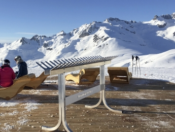 Rack à skis Sun