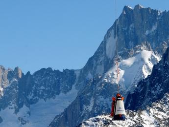 Protection avalanche héliporté
