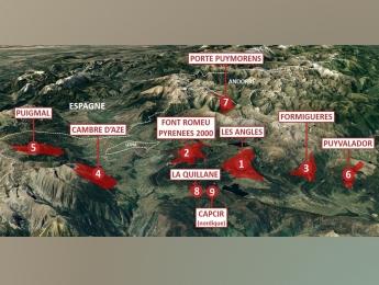 Diag. technique des 8 domaines skiables